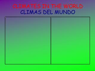THE CLIMATE (Alfonso Agujetas)
