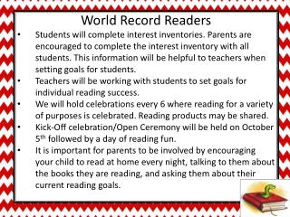 World Record Readers