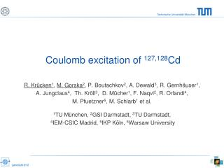 Coulomb excitation of  127,128 Cd