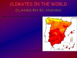 THE CLIMATE (Bryan Cruz)