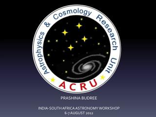ASTRONOMY OUTREACH AT UKZN