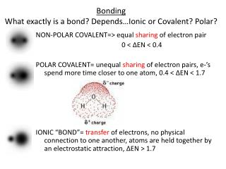 Bonding  What  exactly is a bond? Depends…Ionic or Covalent ? Polar?