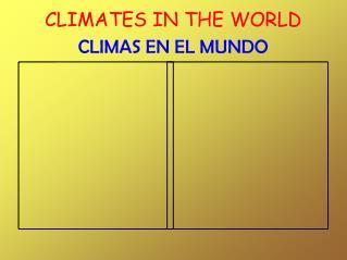 THE CLIMATE (Carmen Nérida)
