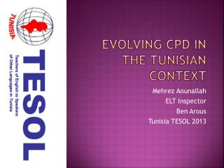 Evolving  CPD in the  Tunisian Context