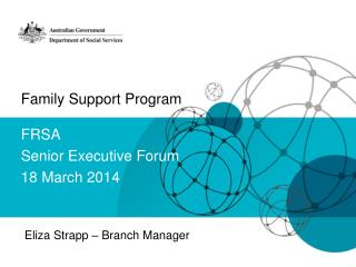 Family Support Program