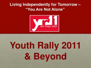 Youth Rally 2011  & Beyond