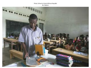 Photo: School in Central African Republic By:  hdptcar