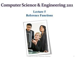 Computer Science & Engineering  2111