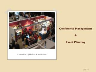 Conference Management  & Event Planning
