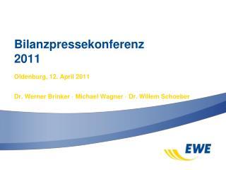 Bilanzpressekonferenz 2011