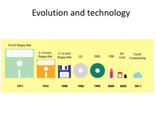 Evolution and technology