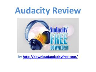 My Audacity Review