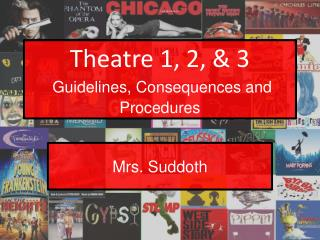 Theatre 1, 2, & 3 Guidelines, Consequences and Procedures