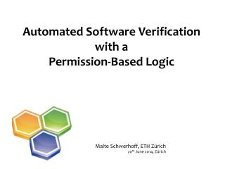Automated Software Verification with a Permission-Based Logic