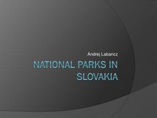 National parks  in Slovakia