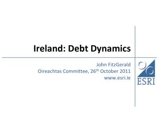 Ireland: Debt Dynamics