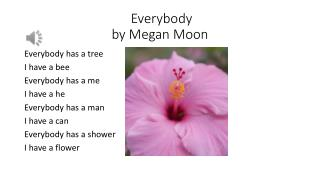 Everybody by Megan Moon