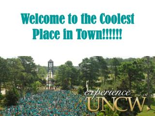Welcome to the Coolest Place in Town!!!!!!