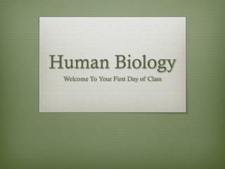 Human Biology