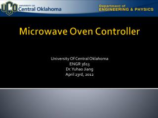Microwave Oven Controller