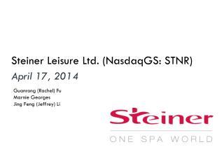 Steiner Leisure Ltd. ( NasdaqGS : STNR)