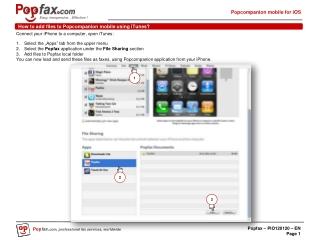 Popcompanion mobile version