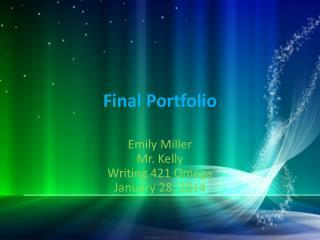 Final Portfolio