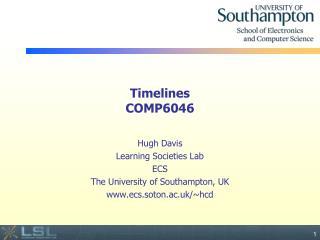 Timelines COMP6046
