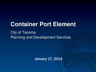 Container Port Element