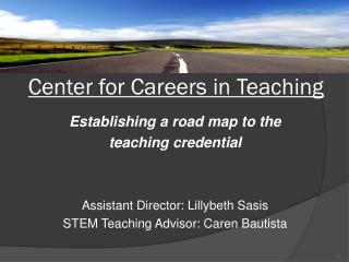 Center for Careers in Teaching