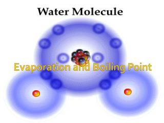 Evaporation and Boiling Point