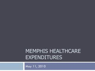 Memphis Healthcare Expenditures