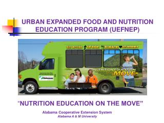 Alabama Cooperative Extension System Alabama A & M University