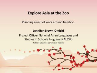 Explore Asia at the Zoo