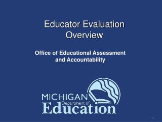 Educator  Evaluation Overview