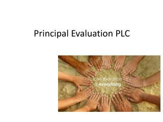 Principal Evaluation PLC