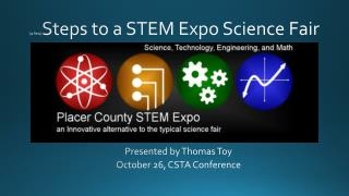 (a few) Steps to a STEM Expo Science Fair