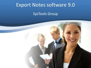 New version 9.0 Export Notes for fast NSF to PST Migration