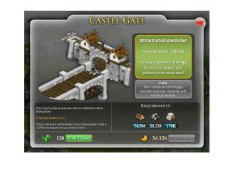 DEFEND YOUR KINGDOM! Army Strength: 100000