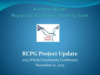 Hampton Roads  Regional Catastrophic Planning Team