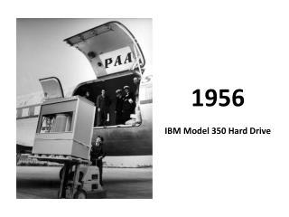 1956 IBM Model 350 Hard Drive