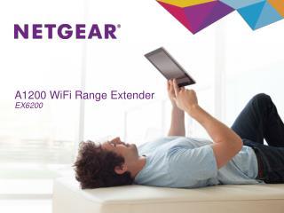 A1200 WiFi Range Extender EX6200