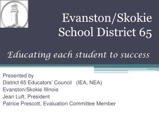 Evanston/Skokie  School District 65