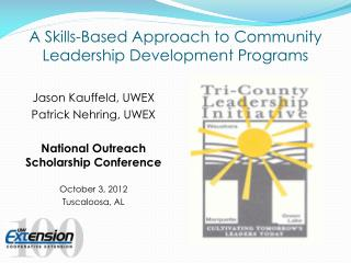 A Skills-Based Approach to Community Leadership Development Programs