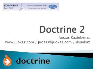 Doctrine 2