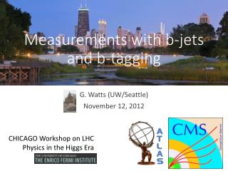 Measurements with b-jets and b-tagging