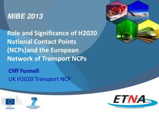 Cliff Funnell UK  H2020  Transport  NCP