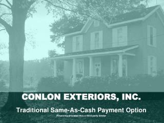 CONLON EXTERIORS, INC.