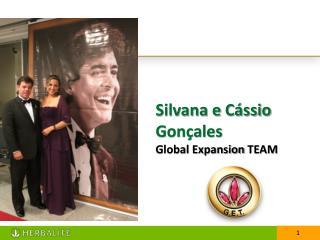Silvana e  Cássio  Gonçales   Global  Expansion  TEAM