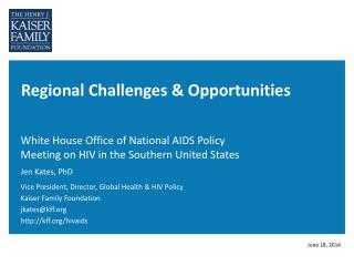Regional Challenges & Opportunities